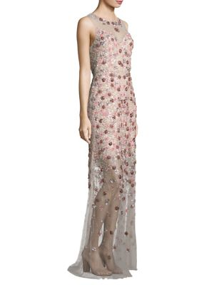 Augenie Embellished Gown