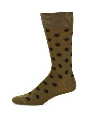 Two-Pack Dot-Print Socks