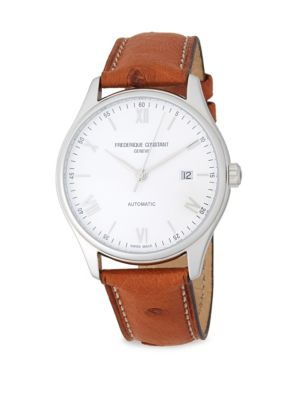 Classics Index Automatic-Self-Wind Stainless Steel Watch