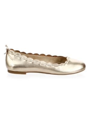 Lucie Leather Flats