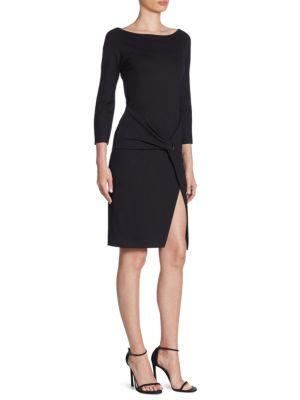 Milano Jersey Wrap Dress