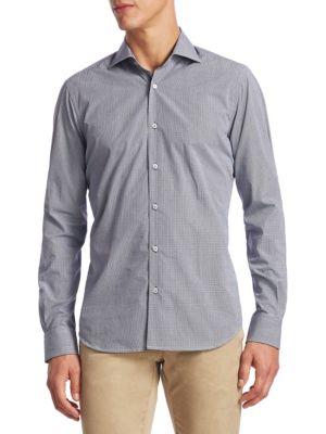 COLLECTION Cotton Button-Down Shirt