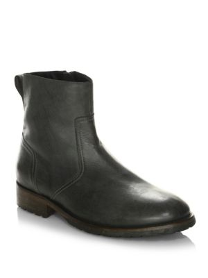 Attwell Leather Ankle Boots