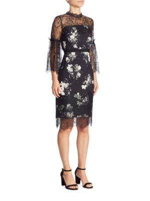 Kiya Floral Lace Dress