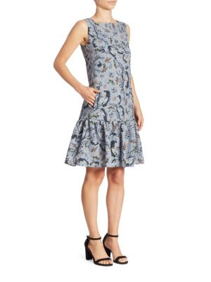 Nichola Floral-Print Dress