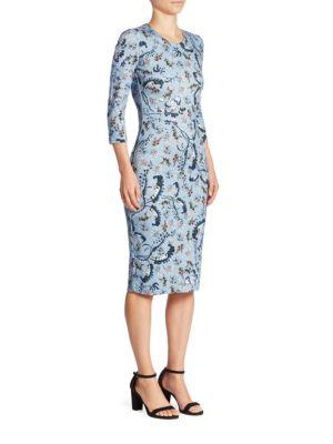 Allegra Floral-Print Dress