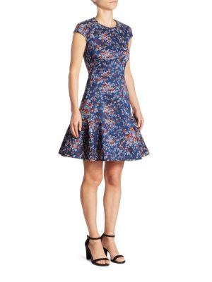 Darlina Floral-Print Dress