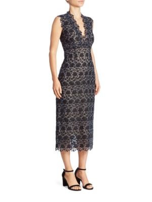 Eleri Lace Midi Dress