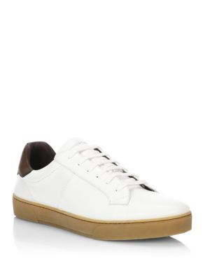 Vittorio Vulcanised-leather Sneakers - NavyErmenegildo Zegna VyuDTiq