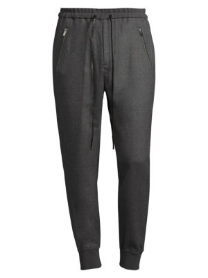 Dropped Rise Tapered Sweatpants