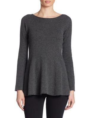 Cashmere A-Line Sweater