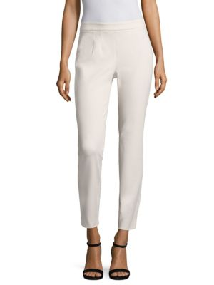 Flat Front Straight Pants 0400094491736