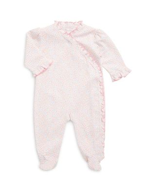 Baby's Ditsy Print Footie