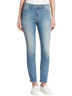 Armani Jeans High-Rise Comfort Leg Jeans