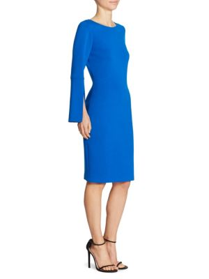 Split Sleeve Wool Dress