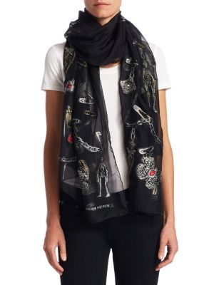 Ruby Rock Fil Coupe Scarf