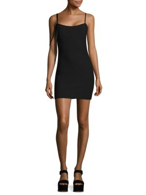 Mija Strappy Mini Dress