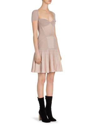 Rib-Knit Drop-Waist Dress