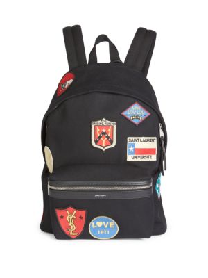 Patch Detail Backpack