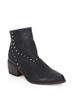 The Door Leather Ankle Boots