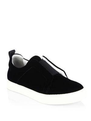 Slider Velvet Skate Sneakers