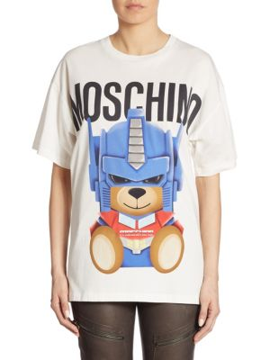 Cotton Bear Tee by Moschino