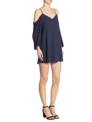 Carli Cold-Shoulder Shift Dress