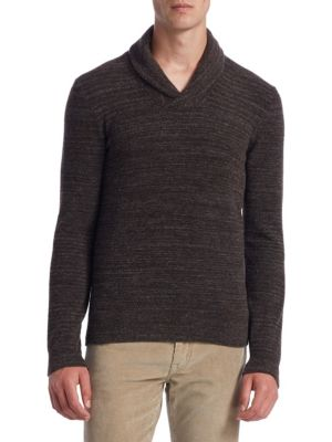 COLLECTION Shawl Collar Sweater