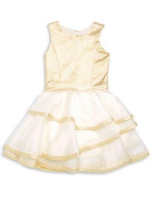 Girl's Addison Layered Dress