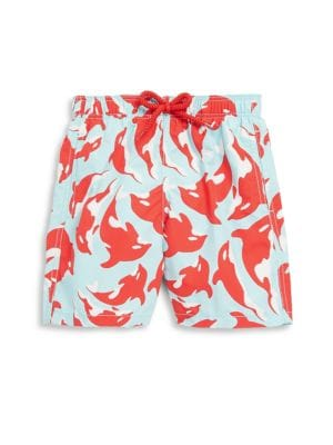 Toddler's, Little Boy's and Boy's Printed Shorts