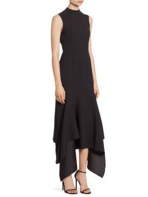 Klara Ruffle Hem Dress