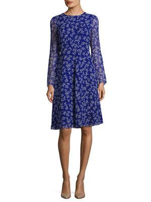 Dr Cecily Floral-Print Silk Dress