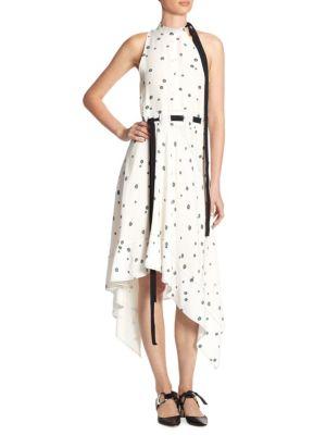 Silk Asymmetric Dress