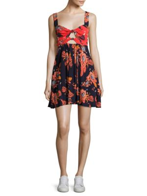 Baby Its You Floral Mini Dress