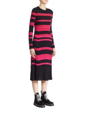 Wool Cashmere & Silk Dress