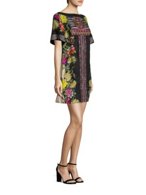 Buy Etro Maze-Print Silk Floral Dress online with Australia wide shipping
