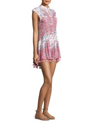 Mini Tassel Print Dress