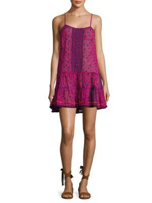 Mini Floral Ruffle Dress