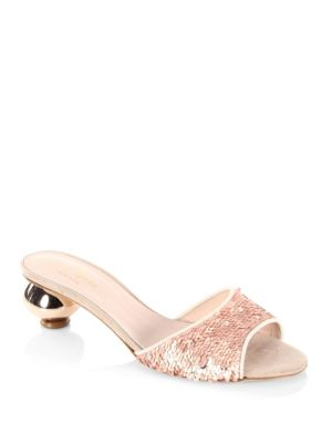 Paisley Slip-On Sandals from Saks Fifth Avenue