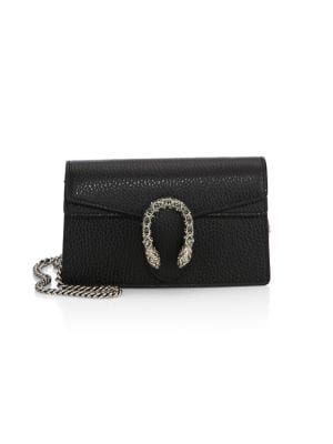 Dionysus Leather Mini Chain Shoulder Bag