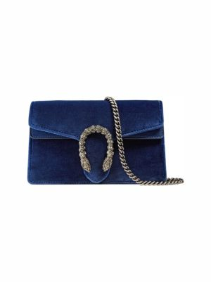 Dionysus Velvet Mini Chain Shoulder Bag