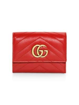GG Marmont Matelassé Leather Wallet