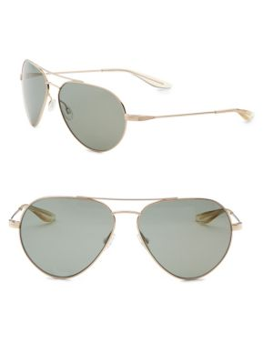 Commodore 61mm Aviator Sunglasses