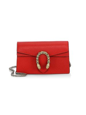 Dionysus Leather Mini Chain Shoulder Bag