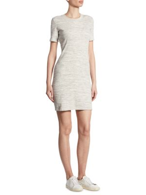 Cherry B Rib-Knit T-Shirt Dress