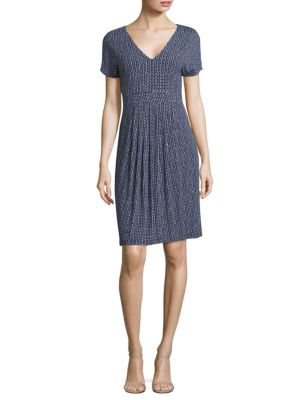 Buy Weekend Max Mara Eiffel Print Jersey Dress online with Australia wide shipping