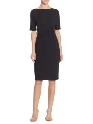 Alaggio Side Ruched Dress
