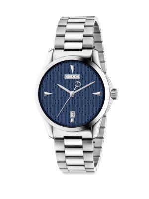 G-Timeless Stainless Steel Bracelet Watch