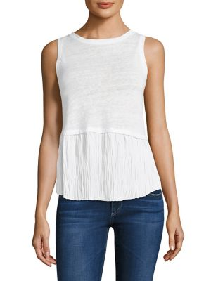 Nolan Pleated Top by Generation Love