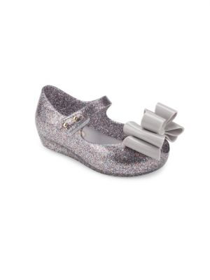 Toddler's & Little Girl's Ultragirl Glitter Bow Mary Jane Flats